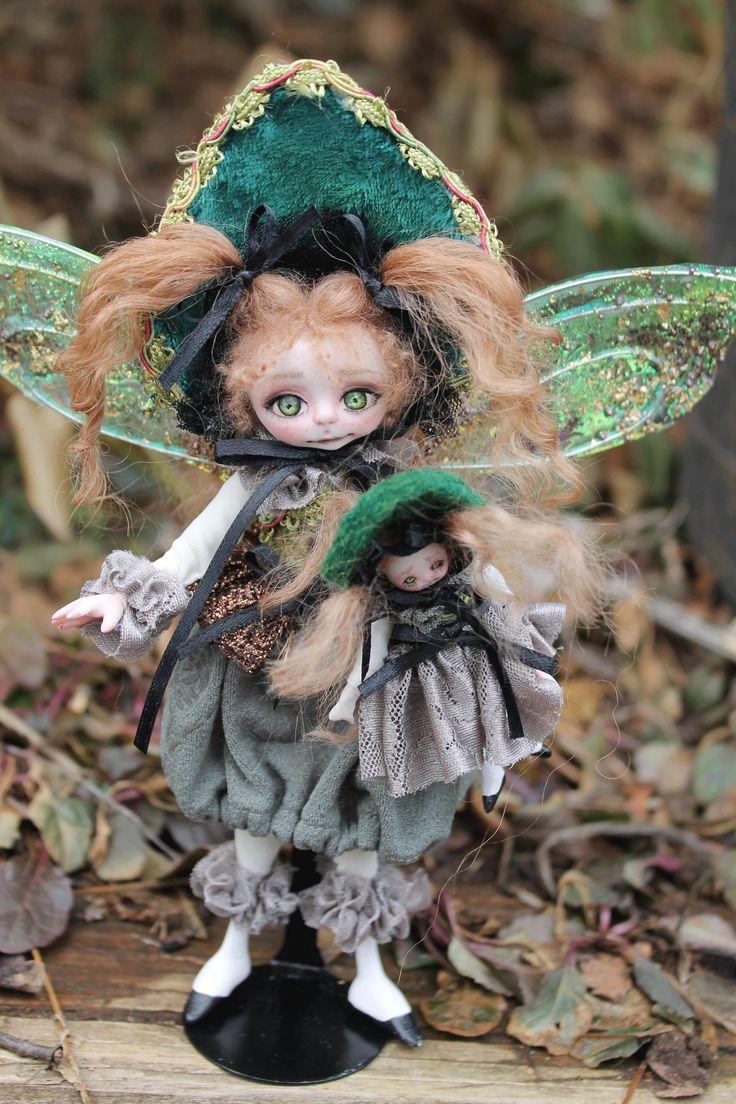 Glory Gardenfae fairy girl 6.5 inches tall Fairy girl