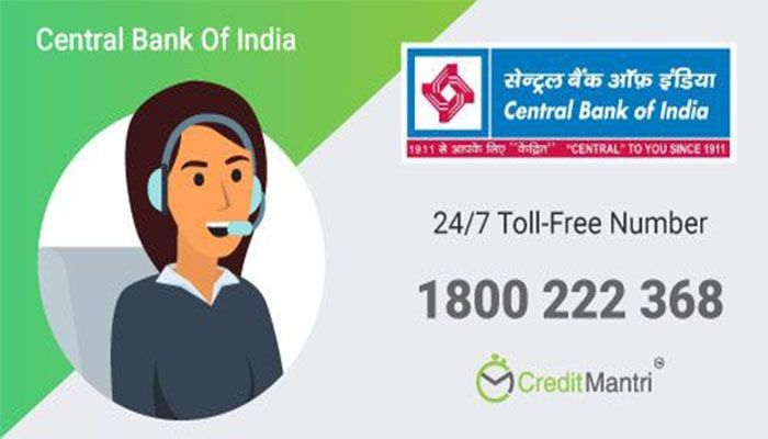 Central Bank Of India Credit Card Customer Care Number