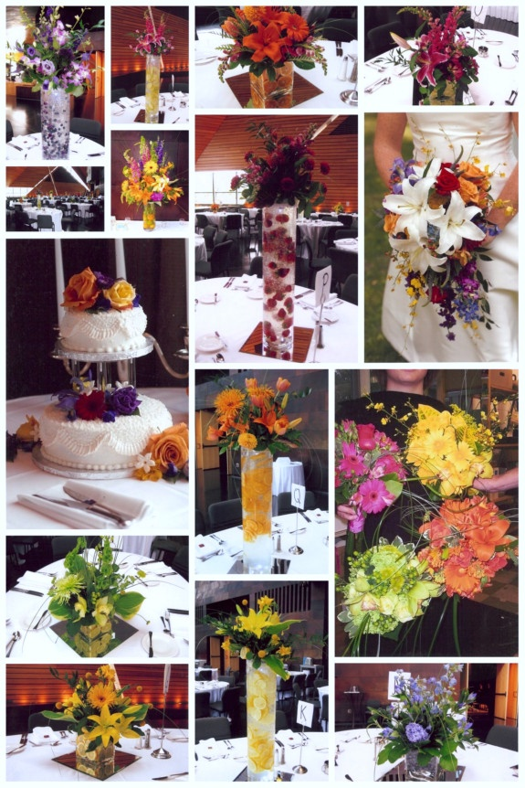 some of your bright colors. fun flowers too.