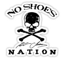 KENNY CHESNEY NO SHOES NATION Sticker