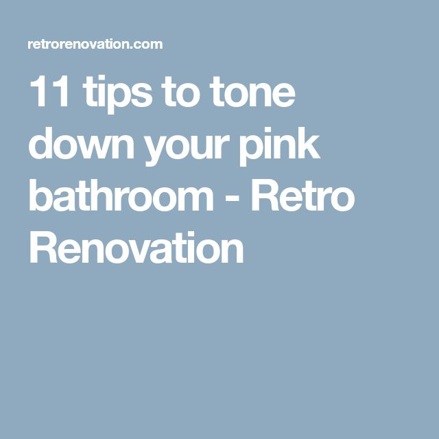 Pink Bathrooms Designs, Pink Cabinets And Pink