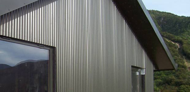 Exterior Cladding Corrugated Steel House Pinterest