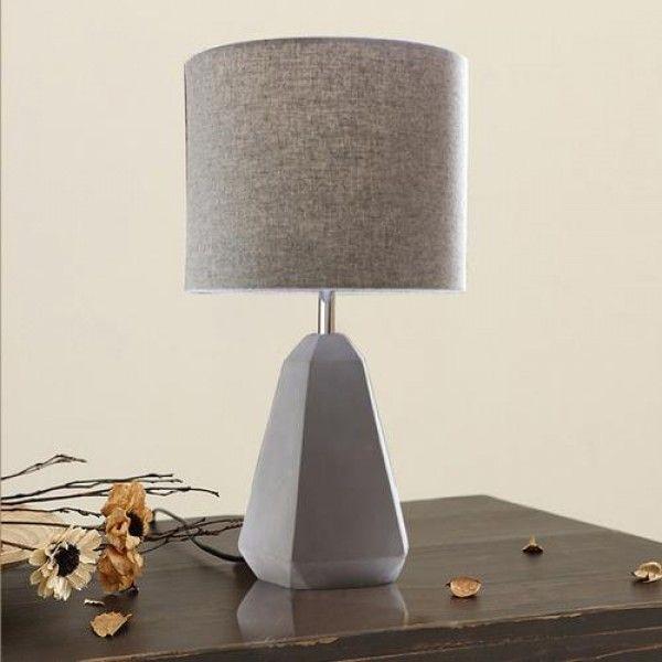 Balwyn Concrete and Wool Felt Designed Table Lamp