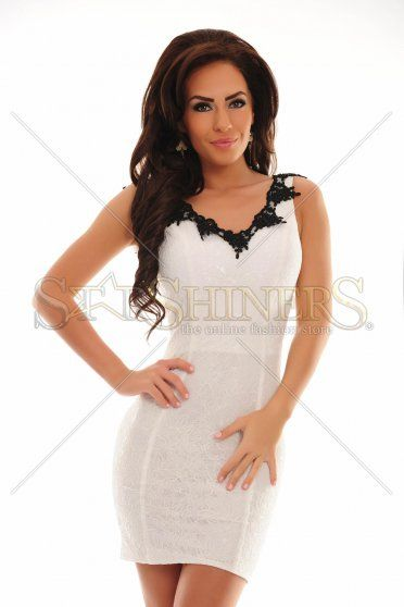 LaDonna Perfect Candy White Dress