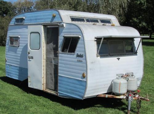 1966 Scotty Vintage Camper Tiny House Listings Vintage