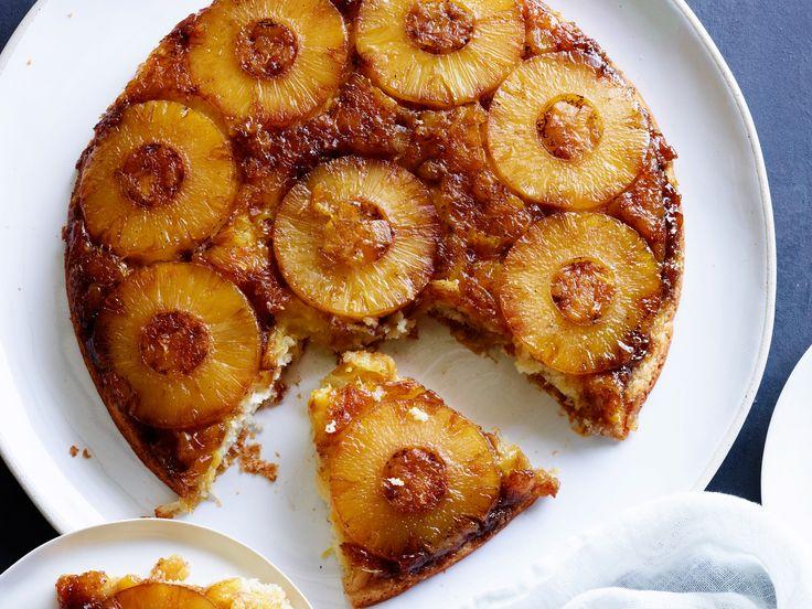 Pineapple Upside-Down Cake recipe from Damaris Phillips via Food Network