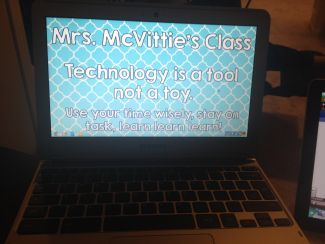 Chromebooks in the classroom! :)
