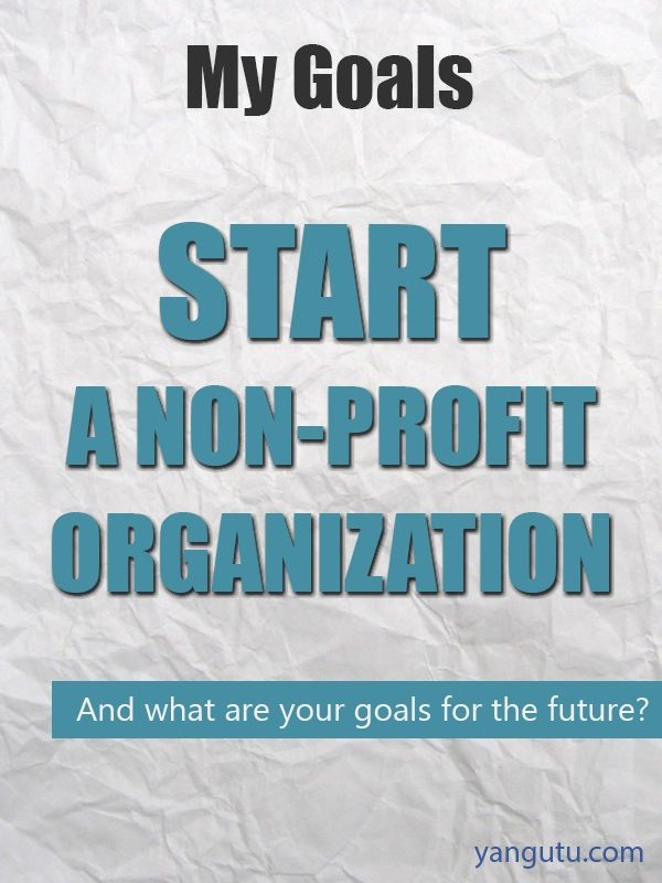 how to start your own non profit charity