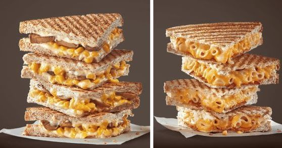McDonald's Hong Kong Serves Up New Grilled Mac & Cheese Sandwich #McDonalds #food #fastfood #delicious #eating #happymeal