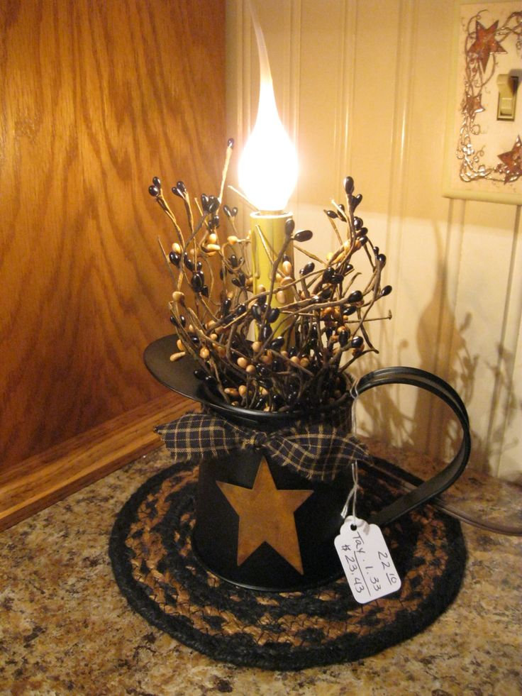 Just a little light! https://www.facebook.com/pages/Primitive-Country-Treasures/100991083354848