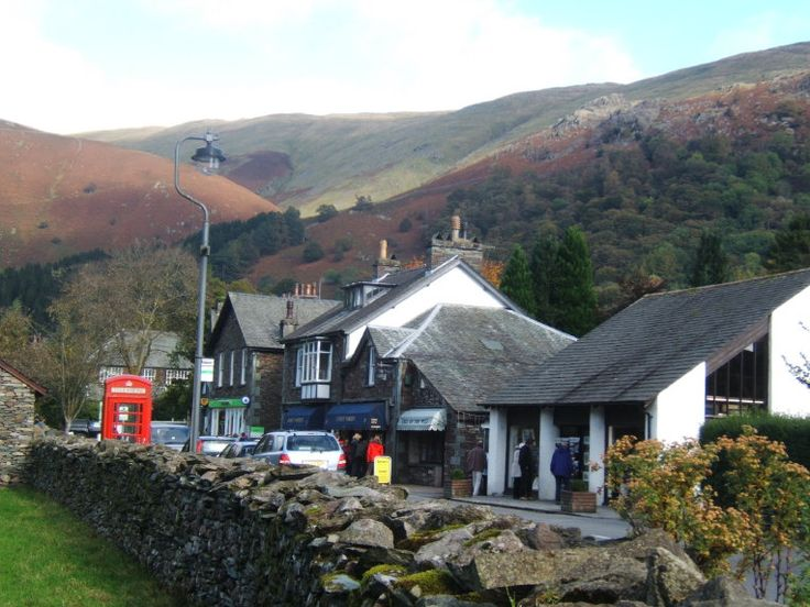 This is the town of Grasmere in the Lake District of England. it is such a wonderful little town, and has, among other things, a very famous gingerbread bakery that is so small, no more than 6 people can be in there at a time!
