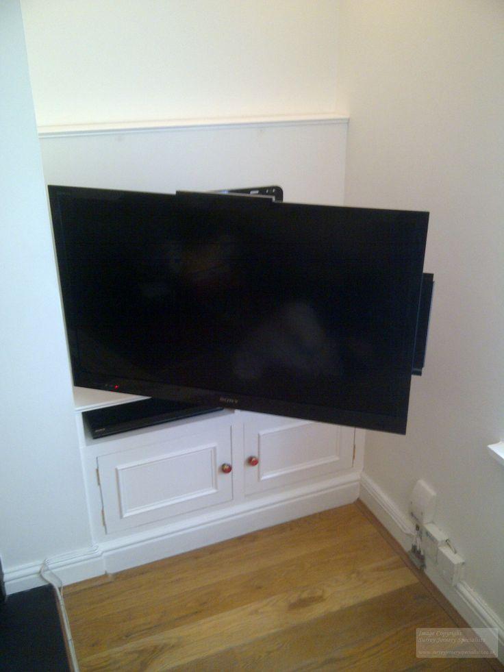 Tv extended on wall mount