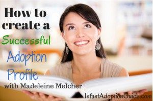"""""""When it comes to your adoption profile, everything you include should paint a…"""