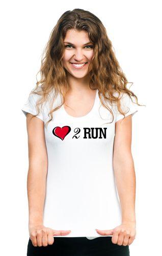 Koszulka Love 2 Run