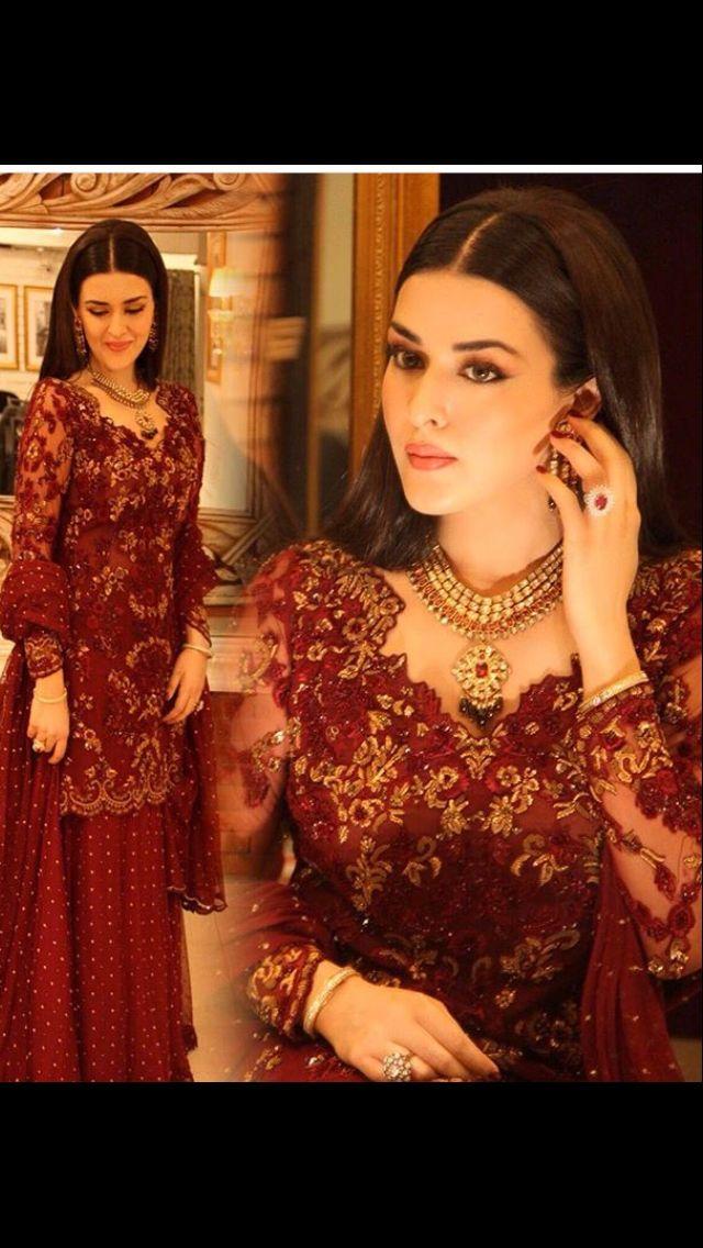 Natasha in Mina Hasan Pakistani couture