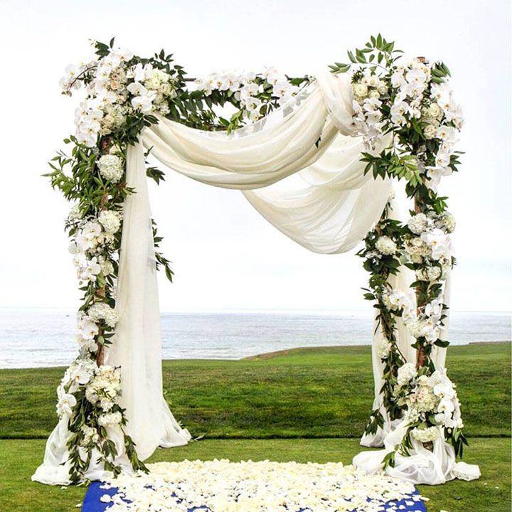 Beach Wedding Altar Flowers: 25+ Best Ideas About Wedding Mandap On Pinterest