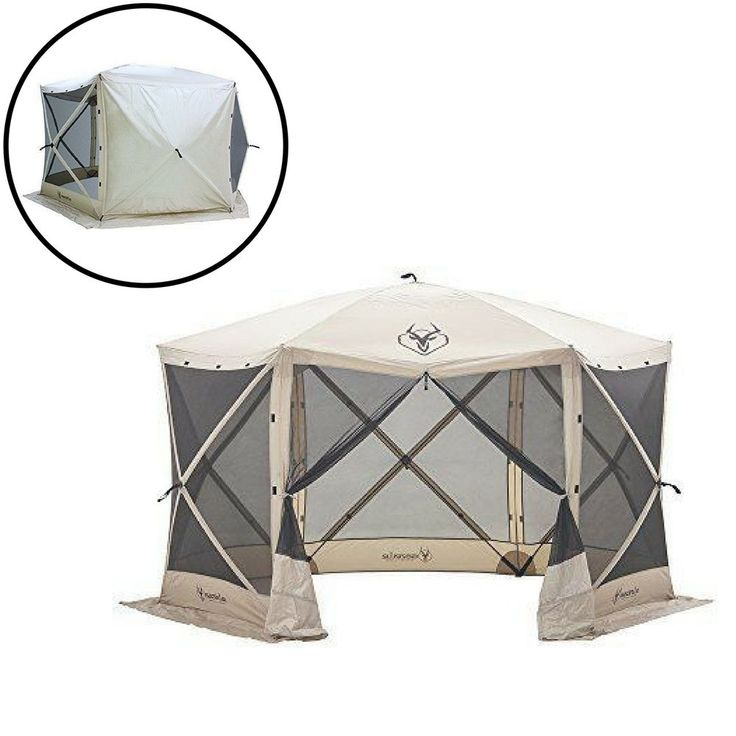Gazebo Replacement Canopy Patio Outdoor Garden Cover Sunshade Waterproof 6 Sided #Unbranded