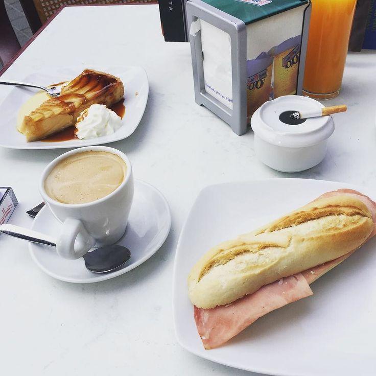Old school breakfast.