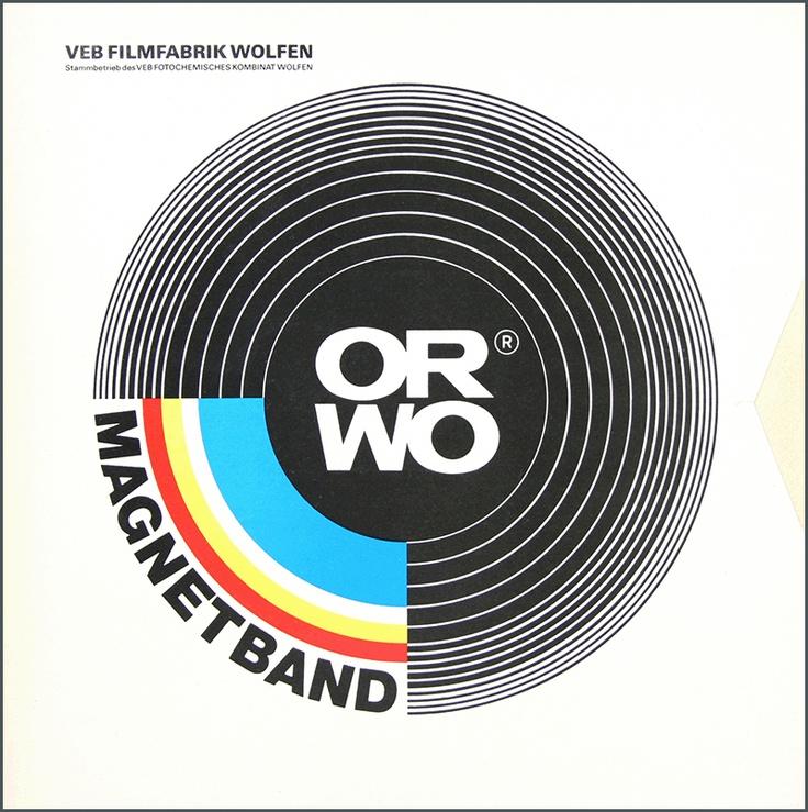ORWO Magnetband produced at VEB Filmfabrik Wolfen.