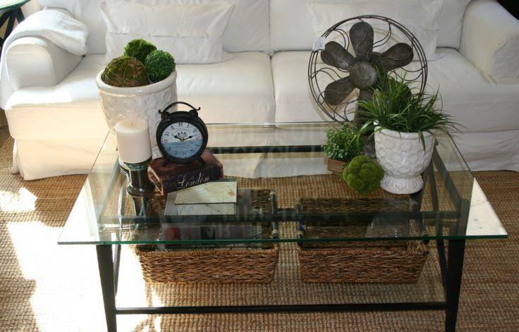 Mercury Glass Coffee Table Tray