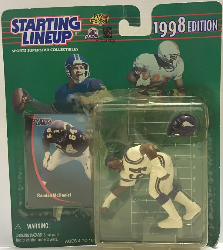 (TAS032396) - 1998 Kenner Starting Lineup NFL Vikings - Randall McDaniel #64