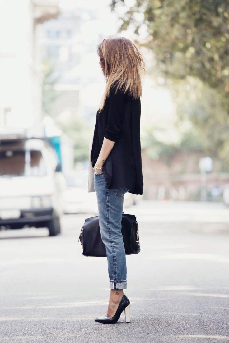 """""""Perfect boyfriend jeans"""" - Outfit di @nicolettareggio con i boyfriend jeans """"Manu"""" by 2W2M"""