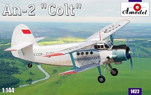 "Antonov An-2 ""Colt"". A Model, 1/144, injection, No.1422. Price: 10,98 GBP."
