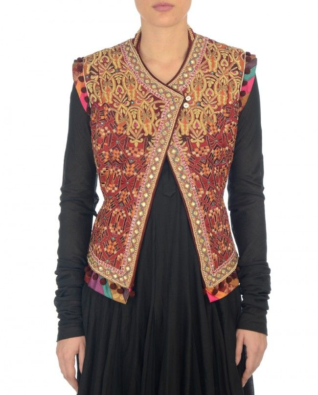 Multi Gypsy Colours Jacket- Buy Occasion Wear,Jackets Online | Tarun Tahiliani Tarun Tahiliani