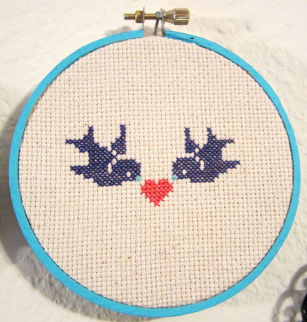 Counted Cross Stitch: Adorable Ornaments by The Stitch Lab in Austin, Texas, via Flickr