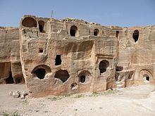 =-= Habitat troglodyte de Dara, en Turquie.