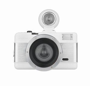 Fisheye Two White Knight Analoge Camera Lomography