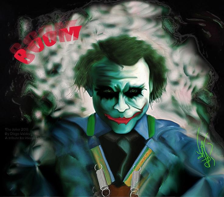 """The Joker"" by Diego Valdez"