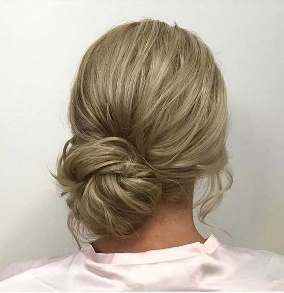 Low Side Bun for Prom Updo Idea
