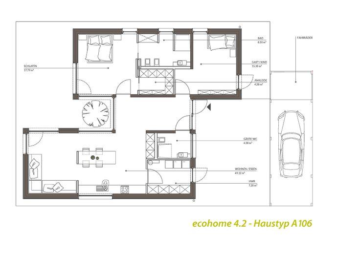39 besten grundrisse bilder auf pinterest grundrisse architektur und erdgeschoss. Black Bedroom Furniture Sets. Home Design Ideas