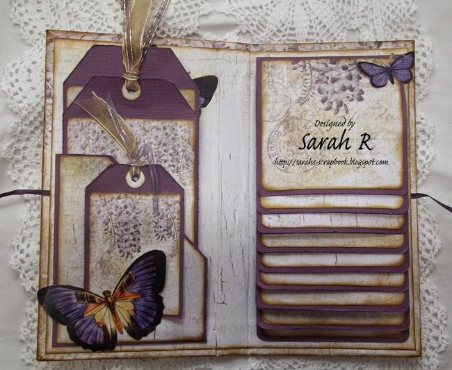 12 Creative Diy Scrapbook & Card Ideas - diy Thought. Waterfall card. #scrapbooking