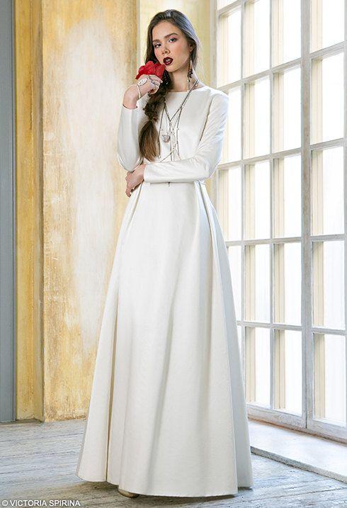 Nephele / Wedding dress with sleeve wedding dress Long sleeves Wedding dress long sleeve wedding dress Bohemian wedding dress Alternative