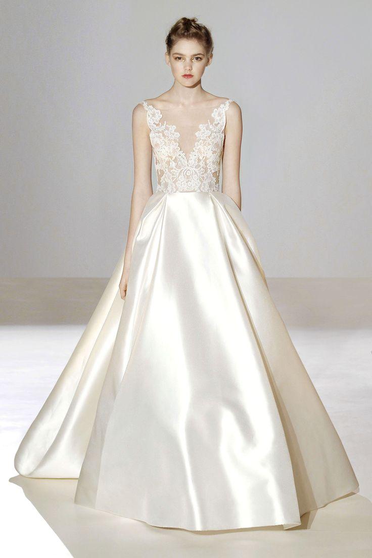 29 best Lazaro images on Pinterest | Short wedding gowns, Wedding ...