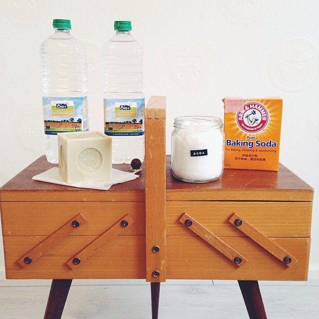 DIY: Zelf schoonmaakmiddelen maken - IKBENIRISNIET