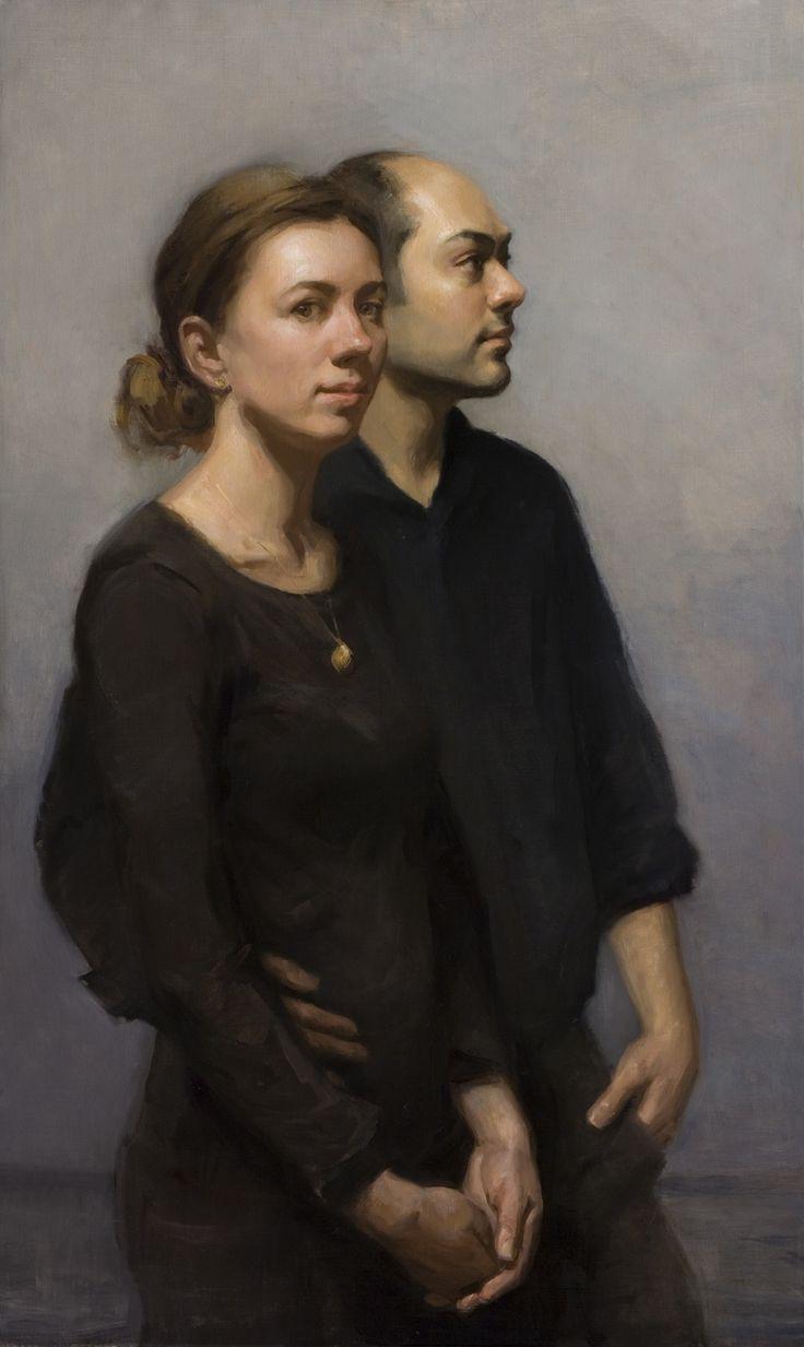 Double Portrait by Angel Ramiro Sanchez