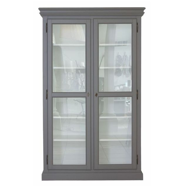 Cathrine vitrineskab grå fra zanz furniture