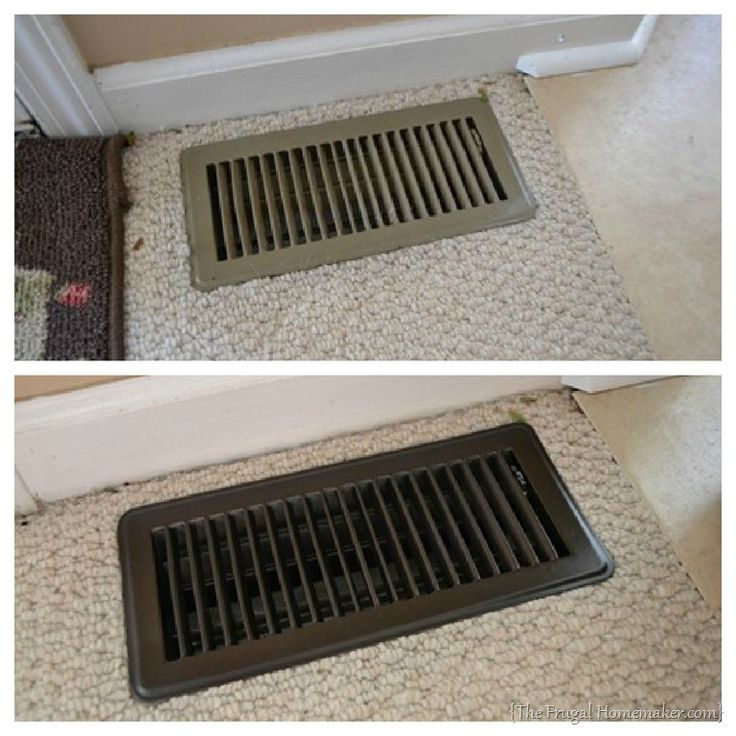Updated Vent Covers From The Frugal Homemaker