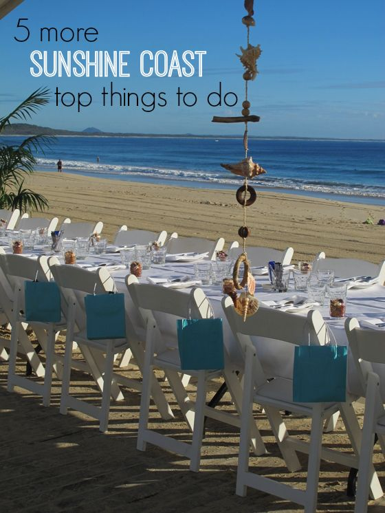 5 more Sunshine Coast top things to do