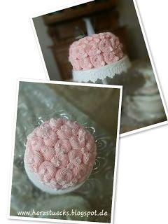 Herzstück : Pink Petal Cake