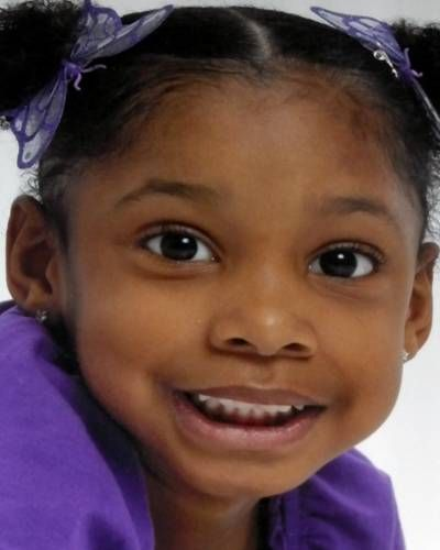 """JHESSYE SHOCKLEY  Case Type: Endangered Missing   DOB: Apr 1, 2006Sex: Female  Missing Date: Oct 11, 2011Race: Black  Age Now: 5Height:  3'5"""" (104 cm)  Missing City: GLENDALEWeight:  55 lbs (25 kg)  Missing State :  AZHair Color: Black  Missing Country: United StatesEye Color: Brown  Case Number: NCMC1181452  Circumstances: Jhessye was last seen wearing a white t-shirt, blue jean shorts, and pink sandals."""