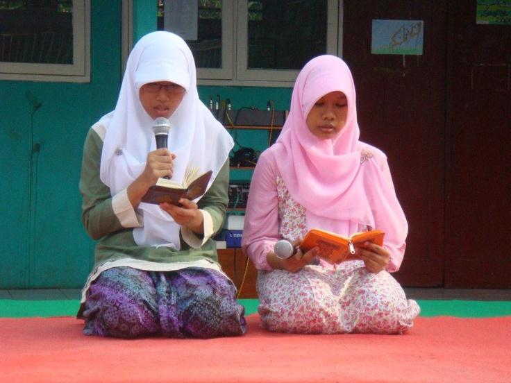 pembukaan acara maulid nabi