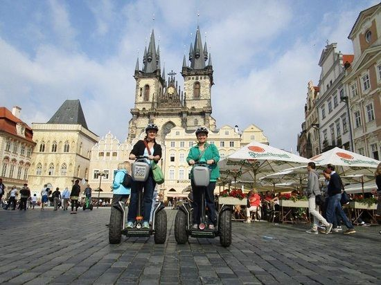 Segway tours in Prague are a golden experience to have for tourists. Visit:  http://www.segwayfun.eu