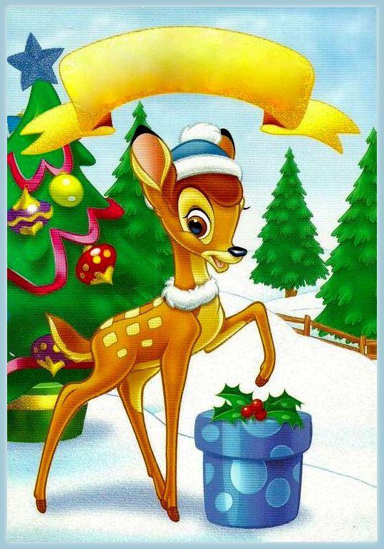 Christmas - Disney - Bambi