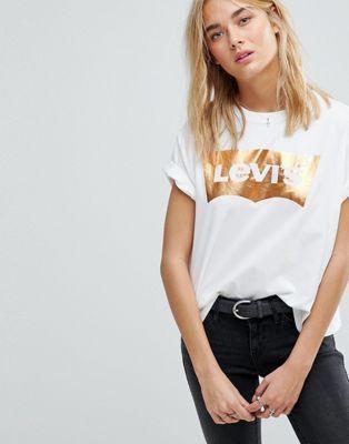 Levi's Metallic Batwing T Shirt