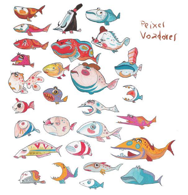 Best Character Design Websites : Best creature design fish images on pinterest