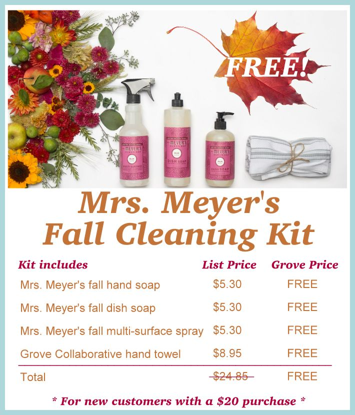 Free Mrs Meyer S Fall Scents Are Here Fall Scents Fall